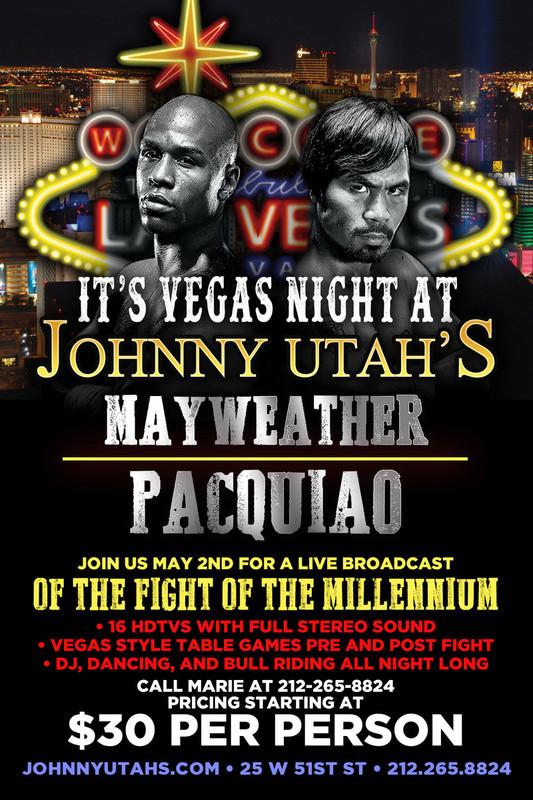 Mayweather vs  Pacquiao - Blitz Tickets