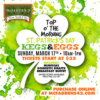 Top O' the Morning - St. Patrick's Day Kegs & Eggs