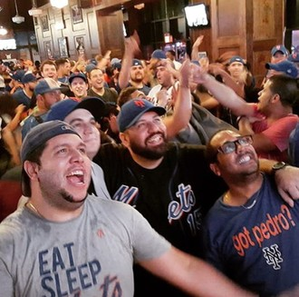 Ultimate Mets Fans Party hosted by Howard 'HOJO' Johnson