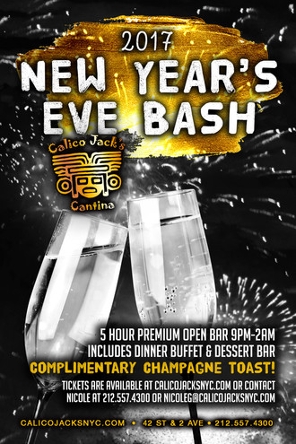 New Year's Eve 2017 Bash