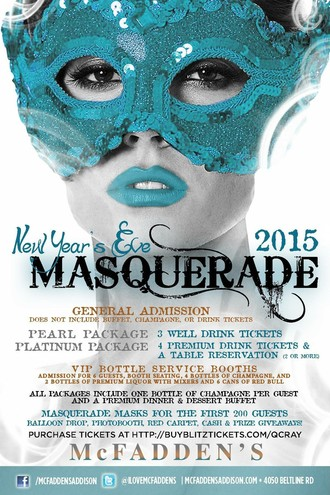 The 2nd Annual New Year's Eve Masquerade Ball