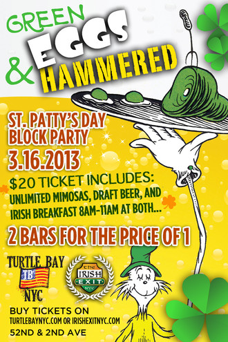 Green Eggs & Hammered Block Party