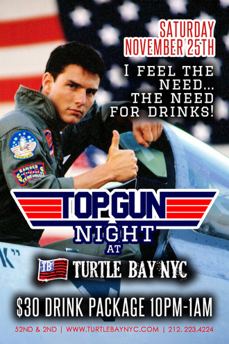 Top Gun -- 80's Party