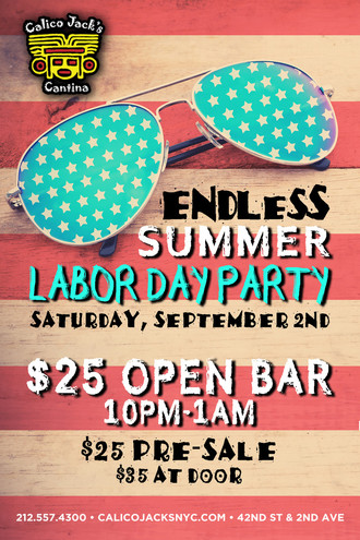 Endless Summer Labor Day Bash